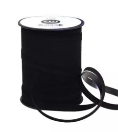 Velvet lint | Zwart - 3 meter