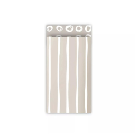 Cadeauzakjes | Line art (grey) - 7 x 13 cm