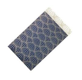 Cadeauzakjes | Ocean waves (blauw) - 12 x 19 cm
