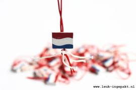 Gelukspoppetje | Nederlandse vlag