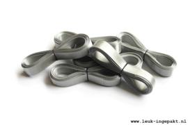 Satijn lint | Grijs - 12 mm / 5 m