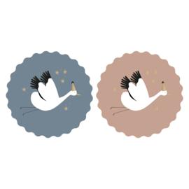 Stickers | Baby birds - 6 stuks