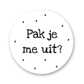 Stickers | Pak je me uit? - 5 stuks
