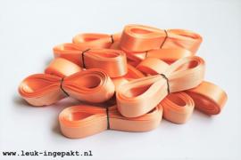 Satijn lint |  Perzik - 15 mm / 5 m