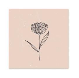 Minikaart | Flower nude