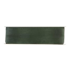 Organza lint |  Mos groen (25 mm)  - per meter