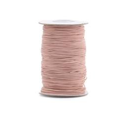 Elastisch koord | Blush (1 mm) - per meter