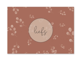 Ansichtkaart | Liefs (bloemen)