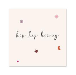 Minikaart | Hip hip hooray