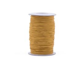 Elastisch koord | Oker geel (1 mm) - per meter