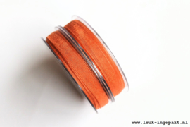 Organza lint    Brick (10 mm) - per meter
