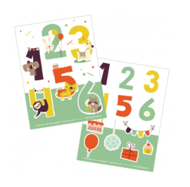 Stickers | Stickervel Numbers - 26 stickers