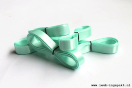 Satijn lint | Mint groen - 12 mm / 5 m