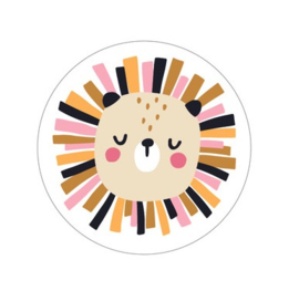 Stickers | Leeuw - 5 stuks