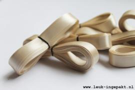 Satijn lint | Champagne - 12 mm / 5 m