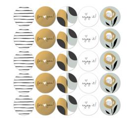 Stickers | Arts & crafts - 5 stuks