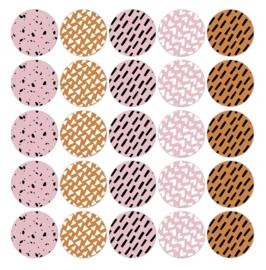 Stickers | Natural senses - 5 stuks