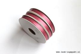 Satijn lint   Plum - 10 mm / 5 m