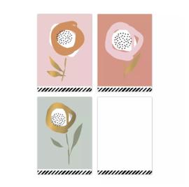 Minikaart   Arts & crafts - 3 stuks