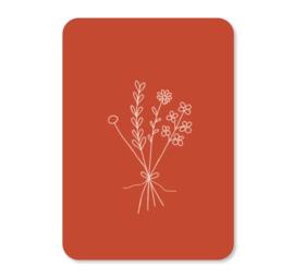 Minikaart | Bloemen