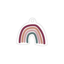 Cadeaulabel | Over the rainbow (vorm)