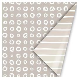 Cadeaupapier   Line art (Grey) - 3 m