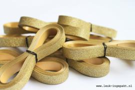 Krullint |  Goud glitter - 5 m