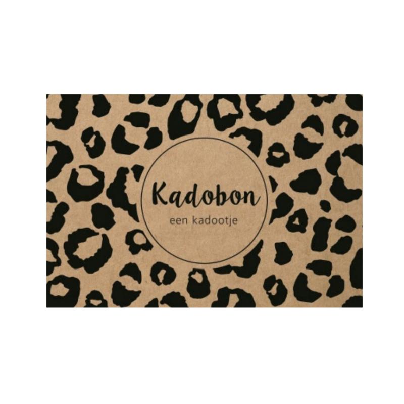 Cadeaubon | Panterprint (prijs vanaf)