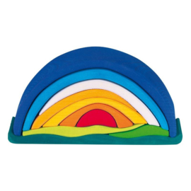 Glückskäfer - Zonsondergang blauw