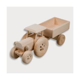 Hofmeister - Tractor met aanhangwagen