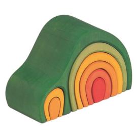 Glückskäfer - Huisje groen