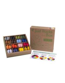 Crayon Rocks - Just Rocks In A Box | 4 x 16 kleuren