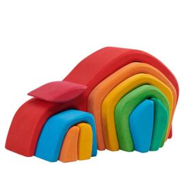 Glückskäfer - Kleurrijke tunnel