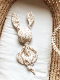 Konijn tricot granen