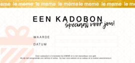 KADOBON E-ticket