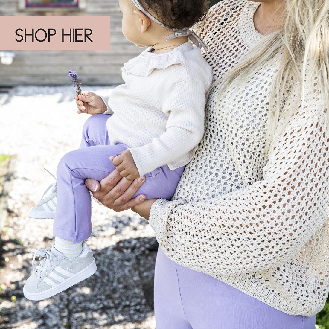 matching broeken voor moeder en dochter