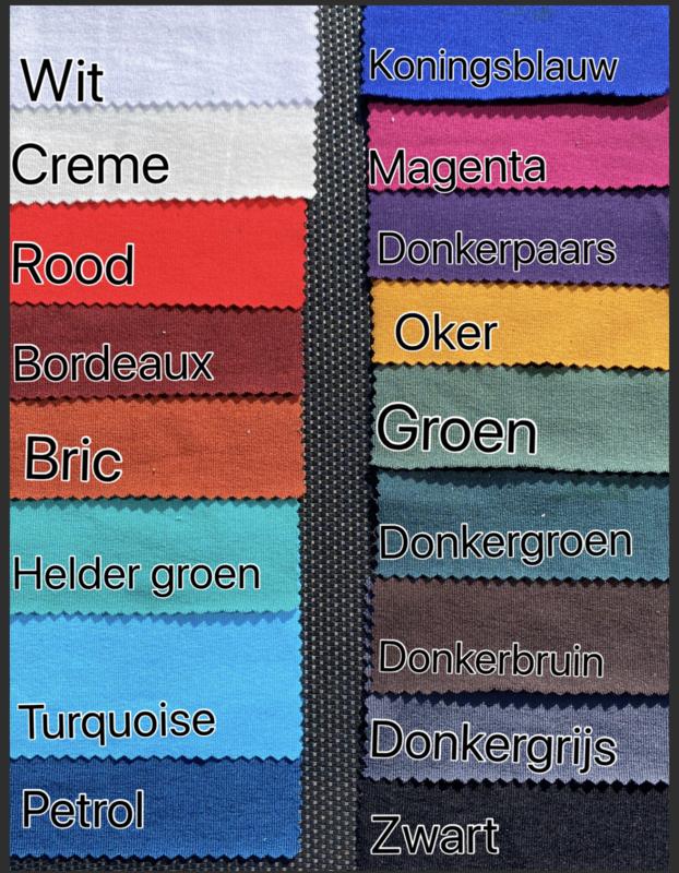 Zomerjurkje met punten trico diverse kleuren