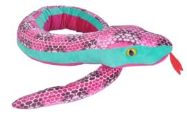 Verzwaringsknuffel slang diverse kleuren