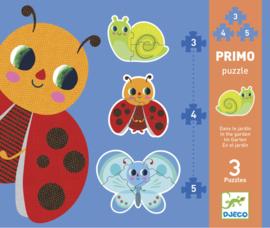 Djeco - Eerste puzzel: in de tuin