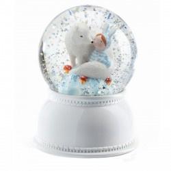 Djeco Sneeuwbal Lila&Pupi Nachtlampje