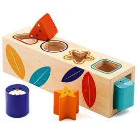 Djeco vormen/sorteerbox boita