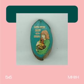 Kikker | mixed media | 5x5 | MHitH