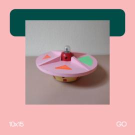 Ufo Pink | Beeldhouwkunst | 10x15 | GO
