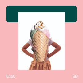 Mijsje | collage | 15x20 | EB