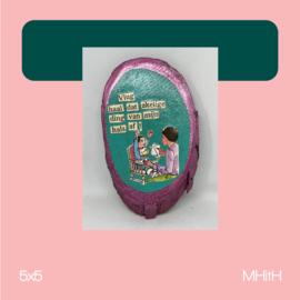 Slabbert | mixed media | 5x5 | MHitH