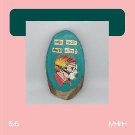 Durfal | mixed media | 5x5 | MHitH