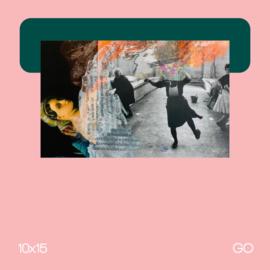 Zonder titel | mixed media | 10x15 | GO