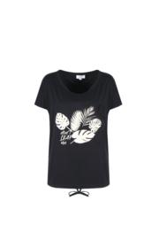 C&S Ineke shirt Zwart