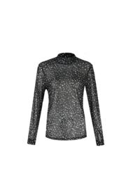 G-maxx Alinda top zwart met hemdje