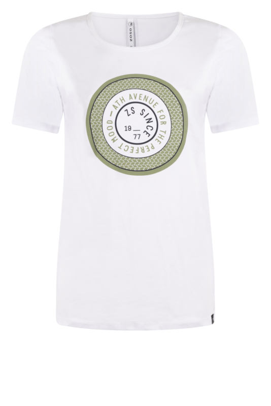 Zoso shirt Lenny green/white